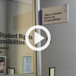 link to video of Office of Student Rights and Responsibilities