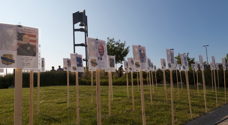 JJC Remembers the Lives Lost on September 11, 2001 during the Annual Tribute