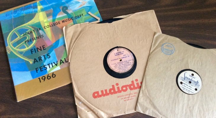 Some records from the Dr. Hal Dellinger Fine Arts Collection.