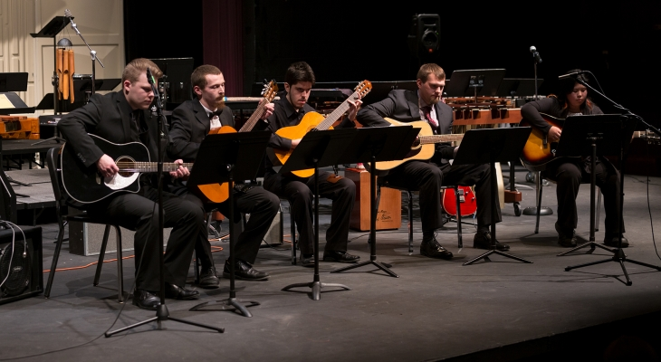 Guitar and Percussion concert